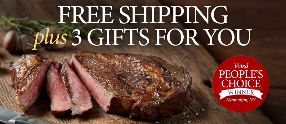 Free Shipping + 3 Gifts
